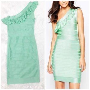 French Connection Miami Spotlight Asymmetric Dress